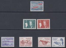1982 ** GREENLAND (Sans Charn,MNH, Postfris)    Yv. 121/7    Mi. 133/9 (7v.) - Komplette Jahrgänge