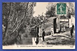 CPA 93 DRANCY BLANC MESNIL (Vieux Pays) - Le Lavoir - Drancy
