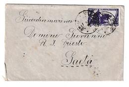 Italy Letter Cover Posted 1933 Ičići To Gaeta B210112 - Croatia
