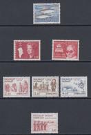 1983 ** GREENLAND (Sans Charn,MNH, Postfris)    Yv. 128/34    Mi. 140/6 (7v.) - Komplette Jahrgänge