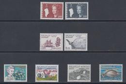 1985 **GREENLAND (Sans Charn,MNH, Postfris)    Yv. 143/50    Mi. 155/62 (8v.) - Komplette Jahrgänge