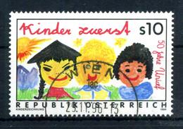 1996 AUSTRIA SET USATO - 1991-00 Gebraucht
