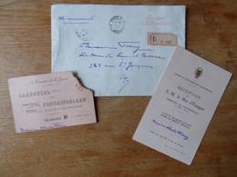 Courrier Présidentiel, Invitation Pour Un Sénateur 1913 - Historical Documents