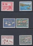 1986 ** GREENLAND (Sans Charn,MNH, Postfris)    Yv. 151/6    Mi. 163/8 (6v.) - Komplette Jahrgänge
