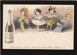 Loire / Eaux Du Mont Pilat à Pelussin, Caricatures Célébrités Du Chant Et De La Danse / Precurseur1903 - Mont Pilat