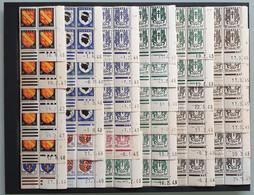 LOT - 158 COINS DATES - ARMOIRIES DE VILLE - Entre 1940 Et 1959. Neuf ** - 1940-1949