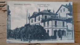 AUTRICHE : FELDKIRCH : Einziges Hotel Am Bahnhof ................ 1080a - Feldkirch