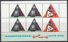 NIEDERLANDE Block 28, Postfrisch **, Kind Und Straßenverkehr 1985 - Blokken