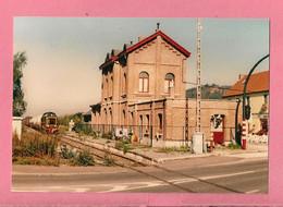 Photo Ciply  = Train  De  Marchandises  Arrivant  En  Gare - Reproducciones