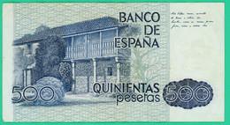 500 Pesetas - Espagne -  23 Octobre 1979 - N° V6214827 - TB + - - [ 4] 1975-… : Juan Carlos I