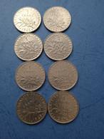 FRANCIA-1 FRANCO (Lotto Di 8 Monete Anni 60) - H. 1 Franco