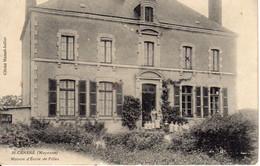SAINT-CENERE - Maison D'Ecole De Filles (animée) - Other Municipalities