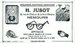 Buvard Optique Jusot 6 R Château Nemours (77) - O