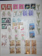 Monaco Lot , 40 Timbres Obliteres - Collections, Lots & Series
