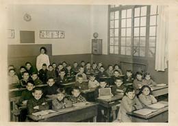 Photo Originale Des élèves De L'école De TAVERNY PLAINE (95) En 1955-1956 - Zonder Classificatie