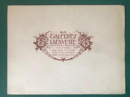 Grand Buvard Double Aux Galeries Lafayette - G