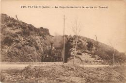 PAVEZIN  .  LE DEPARTEMENTAL A LA SORTIE DU TUNNEL - Other Municipalities