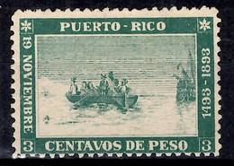 Puerto Rico YT N° 101 Neuf (*). B/TB. A Saisir! - Porto Rico