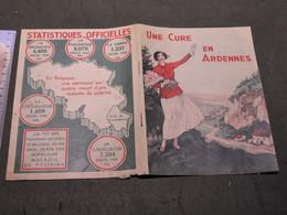 SIROP DES ARDENNES RAHIER - BROCHURE PUBLICITAIRE PROVINCE DE NAMUR - UNE CURE EN ARDENNES - ANNEES 20/30 - VOIR SCANS - Reclame