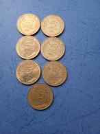 FRANCIA- 5 CENTESIMI (Lotto Di 7 Monete Anni 80) - C. 5 Centesimi