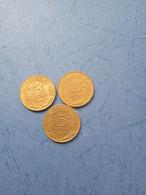 FRANCIA- 5 CENTESIMI (Lotto Di 3 Monete Anni 90) - C. 5 Centesimi