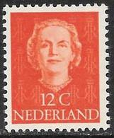 Holanda - Reina Juliana - Año1949 - Catalogo Yvert N.º 0514 - Usado - - Oblitérés