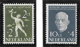 Holanda - Sociedad Navegación - Año1954 - Catalogo Yvert N.º 0624-25 - Usado - - Oblitérés