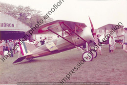PHOTO AVION  RETIRAGE REPRINT  MORANE SAULNIER A1 A1- - Aviation
