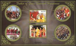 Bhutan 2015 Mi# 2830/35 (Block 533) MNH King Jigme Singye Wangchuck - Bhután