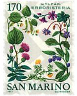 Ref. 93181 * MNH * - SAN MARINO. 1977. MEDICINAL PLANTS . PLANTAS MEDICINALES - Ohne Zuordnung
