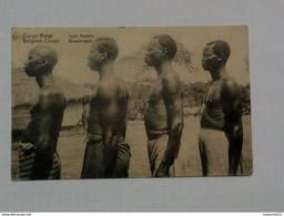 Carte - Entier Postal Congo Belge - Types Bangala ... Lot 673 . - Belgian Congo - Other