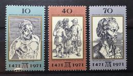 (754) DDR 1971 : Sc# 1298-1300 ART WORKS BY DURER - MNH VF - Ongebruikt