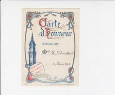 Erekaart / Carte D'Honneur - Nouveau Bois Gand / Gent - 1913 - Diplome Und Schulzeugnisse