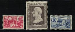 FRANCE N° Yvert 606 608 - Ongebruikt