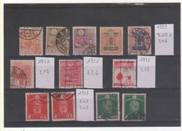 JAPON 1929-37 Lot Oblitéré - Oblitérés
