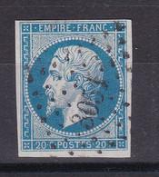 D100 / NAPOLEON N° 14 OBL PC 3051 INDICE 13 - 1853-1860 Napoleon III