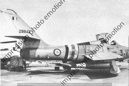 PHOTO AVION  RETIRAGE REPRINT   REPUBLIC F 84 28842 - Aviation