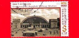 TAILANDIA - THAILAND - Usato - 2016 - 100 Anni Della Stazione Ferroviaria Di Hua Lamphong, Bangkok (metà Del XX Sec.) - - Tailandia