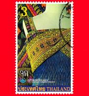 TAILANDIA - THAILAND - Usato - 2016 - Giornata Conserv. Patrimonio - Heritage - Vestiti Della Regina Sirikit - 3 - Tailandia