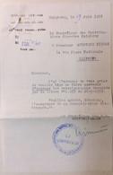 INDOCHINE / VIETNAM . CAFE RESTAURANT MEXICO . HAIPHONG . DEMANDE DE RENSEIGNEMENTS - Historical Documents