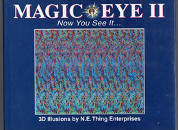 Livre D'images 3D Magic Eye II Now You See It...32 Pages D'images Version En Anglais USA - Other