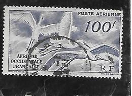 TIMBRE OBLITERE D'AFRIQUE OCCIDENTALE DE 1947 N°MICHEL 55 - Used Stamps