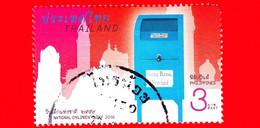 TAILANDIA - THAILAND - Usato - 2016 - Giornata Dei Bambini - Cassette Postali - Mailboxes - Filippine - 3 - Tailandia