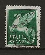 Italie Aérien Oblitéré N° 16 Point De Rouille Lot 35-29 - Airmail