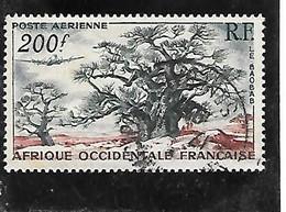TIMBRE OBLITERE D'AFRIQUE OCCIDENTALE DE 1954 N°MICHEL 69 - Used Stamps