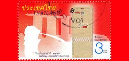 TAILANDIA - THAILAND - Usato - 2016 - Giornata Dei Bambini - Cassette Postali - Mailboxes - Singapore - 3 - Tailandia