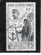 TIMBRE OBLITERE D'AFRIQUE OCCIDENTALE DE 1957 N°MICHEL 84 - Used Stamps