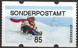 """2020 Österreich Austria AWZ Mi. 66**MNH Automatenmarken :    Weihnachten. """"Sonderpostamt   """" - 2011-... Nuevos & Fijasellos"""