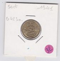 50 Cts Morlon Cupro-aluminium  1941  Sup - G. 50 Centimes