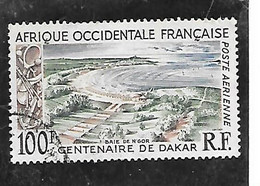 TIMBRE OBLITERE D'AFRIQUE OCCIDENTALE DE 1958 N°MICHEL 93 - Used Stamps